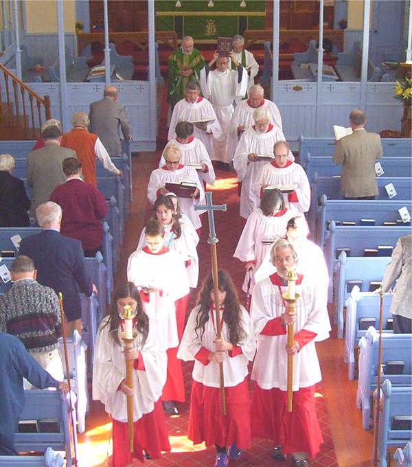 Choir Recession St Marks Anglican Church