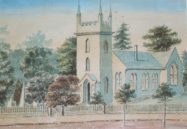 St Marks Anglican Church 1852 to 1895