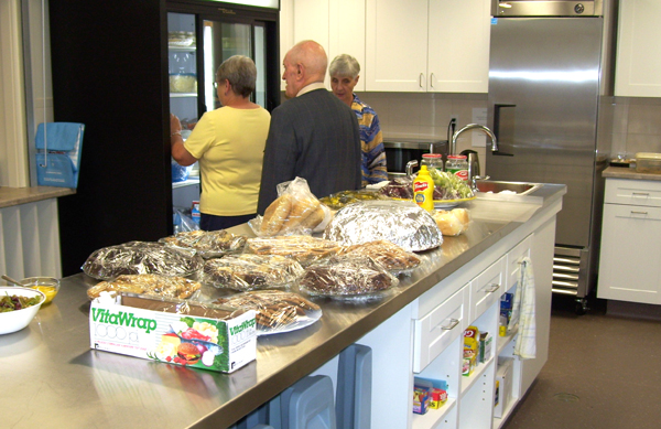 New kitchen - St Marks Anglican Church