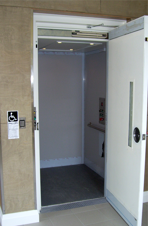 Elevator handicapped accessibility - St Marks Anglican Church